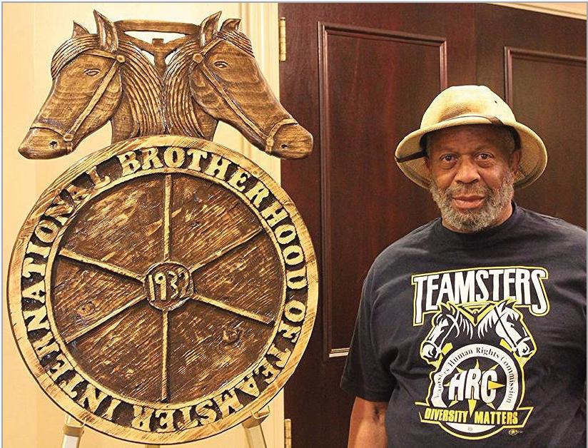 Meet the Man Behind Teamster Woodcarvings: Ernest Mccalman