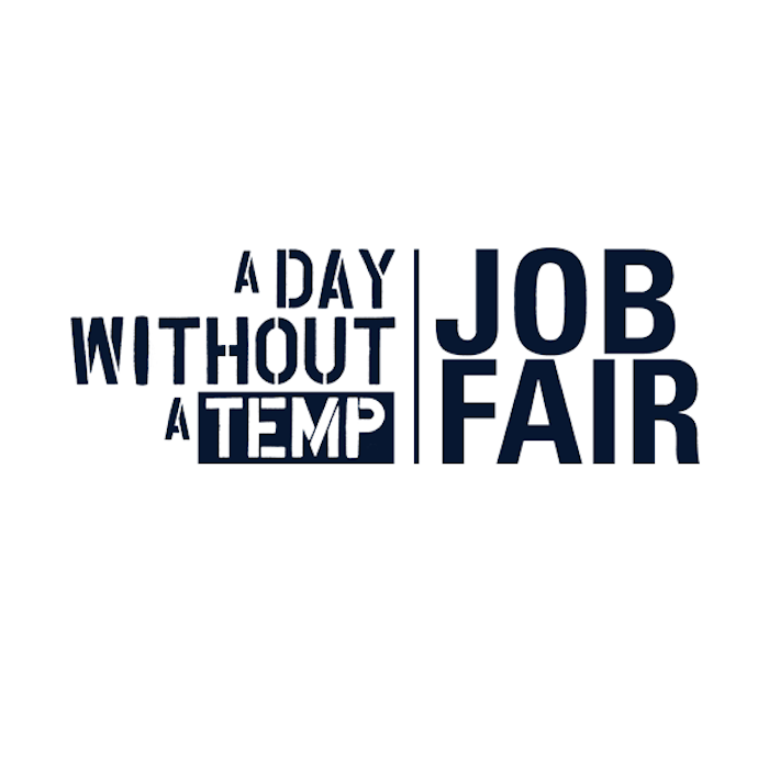 a day without a temp job fair